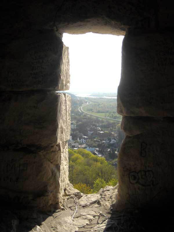 Zamek - widok na Basztę