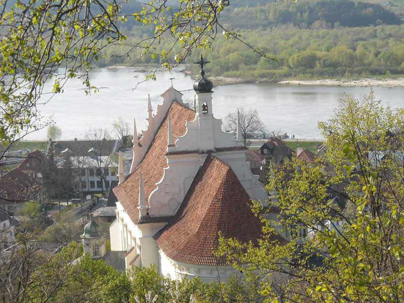 Kazimierz Dolny - kościół farny